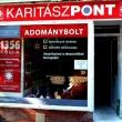 KaritászPont Adománybolt (Fotó: karitasz.hu)