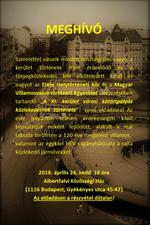 Jubileumot ünnepelnek idén a villamosok Újbudán, 120 éve 1898. december 28 -án indult meg az első villamoskocsi az egykori Károly kaszárnyától (a mai Deák tértől) a kiskörúton, a Ferencz József hídon (ma Szabadság híd), a Fehérvári úton és Átlós úton (ma már egységesen Bartók Béla út) át Kelenföld pályaudvarig.  A villamost nem egészen egy éven belül követték a Gellért tér és Háros MÁV vasútállomás között közlekedő HÉV szerelvények. Kevésbé ismert azonban, hogy már az elektromos járművek megjelenése előtt t
