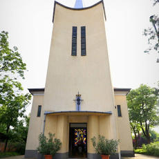Baross Gábor-telepi Jézus Szíve Templom(Forrás: ars-sacra.hu)