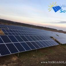 Napelem kivitelezés, 500 kWp méretű napelem erőmű