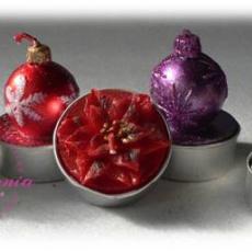 karácsonyi teamécsesek