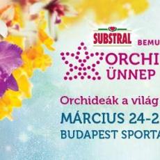 Orchidea Ünnep a Budapest Sportarénában, március 24-25-26.