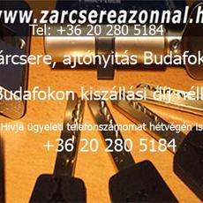 Zárszerelés, ajtónyitás Budafokon Tel: +36 20 280 5184