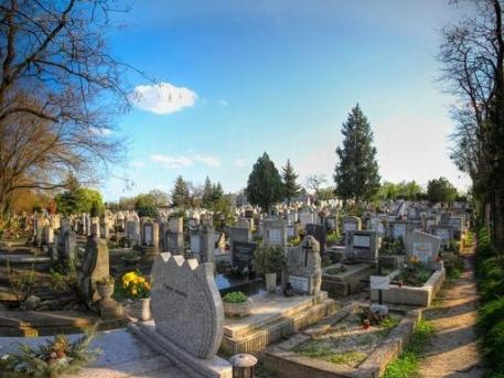 A temetőben nyugalom van, már nem kell többet idegeskedni az oda vezető úton