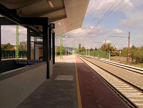 Albertfalva állomás, forrás: wikipedia