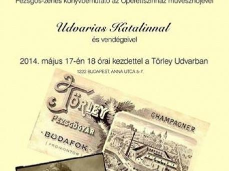 Pezsgős, zenés könyvbemutató az Operettszínház művésznőjével, Udvarias Katalinnal!