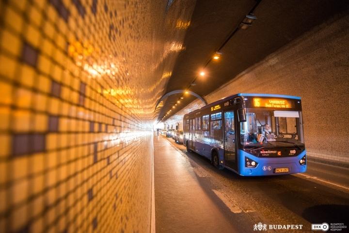 Az alagút mostanság (forrás: BKK)