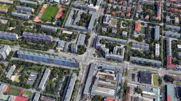 A kép csak illusztráció, a Google maps még a régi állapotot mutatja