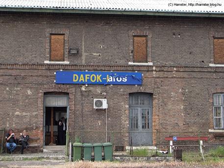 Az állomás, nem olyan régen, fotó: hampló