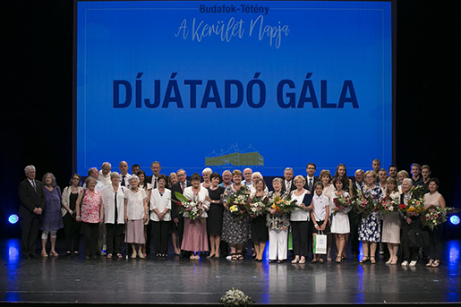 A tavalyi díjazottak, fotó: Kocsis Zoltán