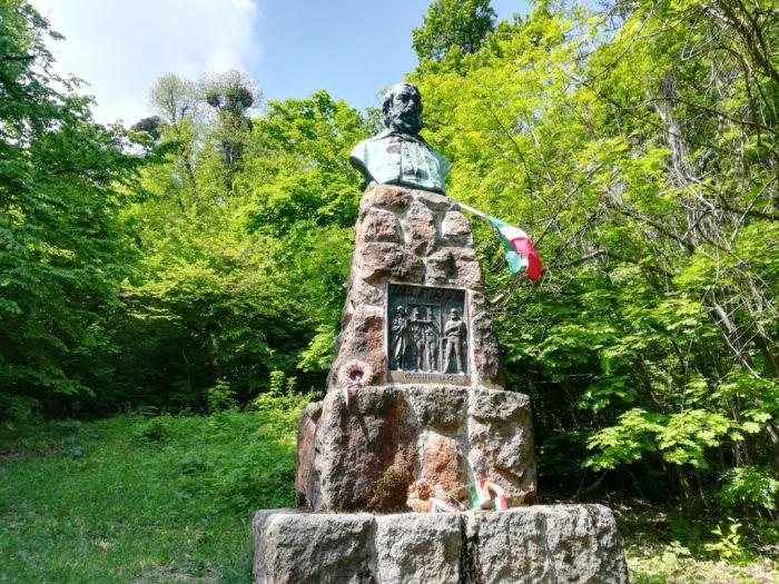 A Kossuth-szobor a Zugligetben 2019-ben (fotó: Székely Ildikó)